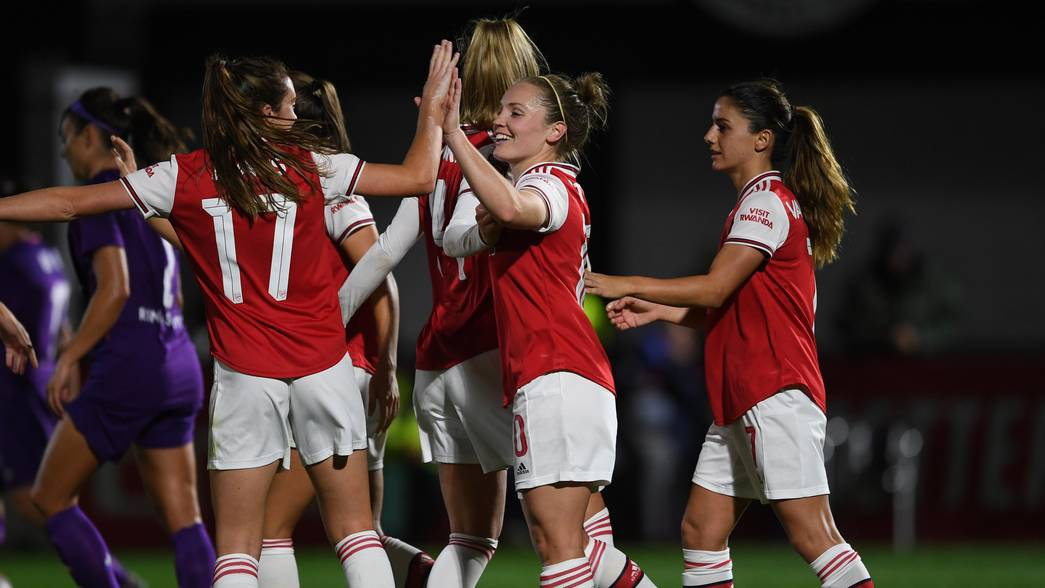 Las Gunners cerraron la eliminatoria con un 2-0 en casa ante la Fiorentina. / Arsenal Women