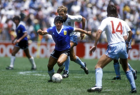 Maradona, camino hacia la gloria