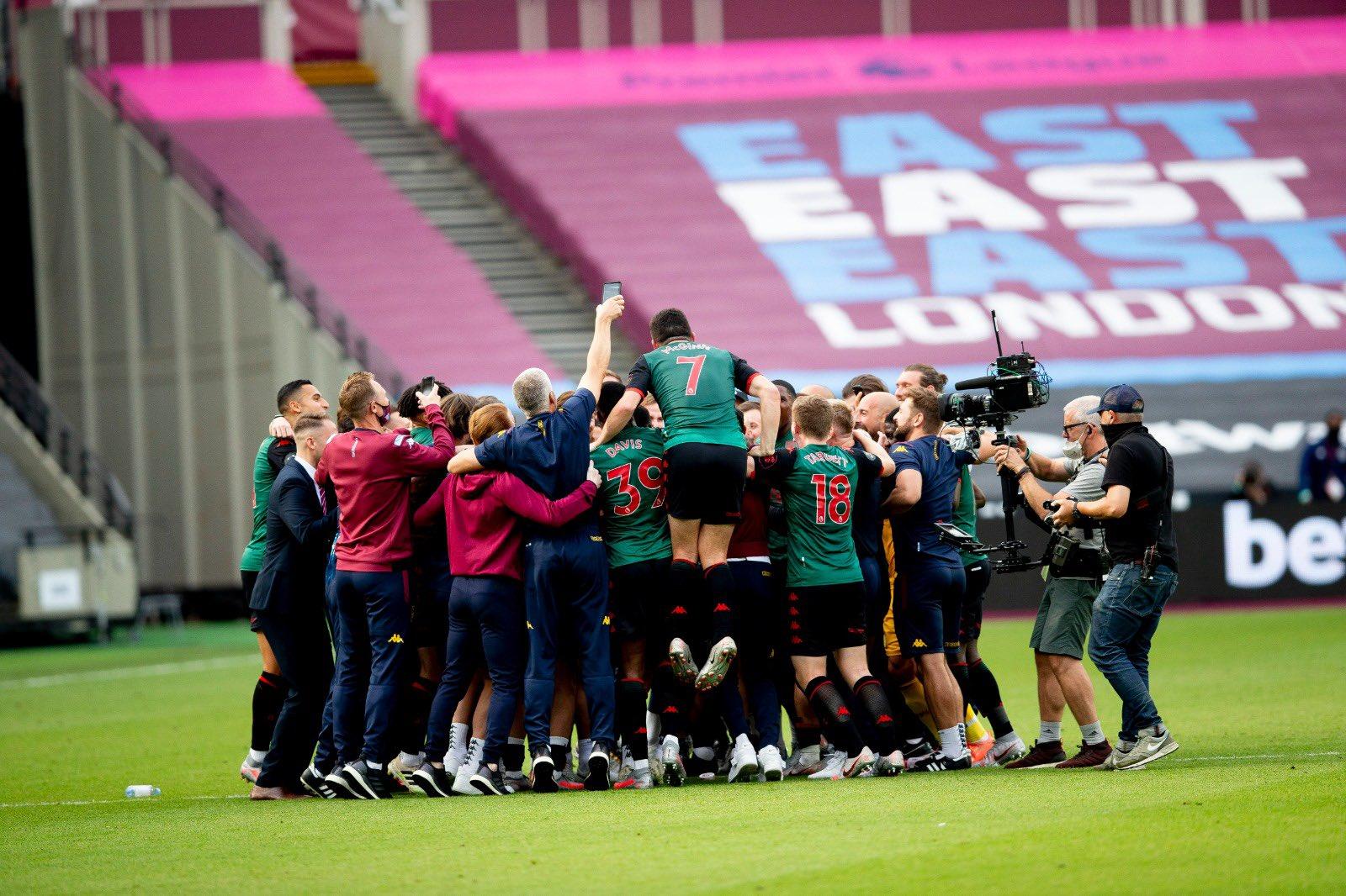 El Aston Villa se salvó en la jornada final