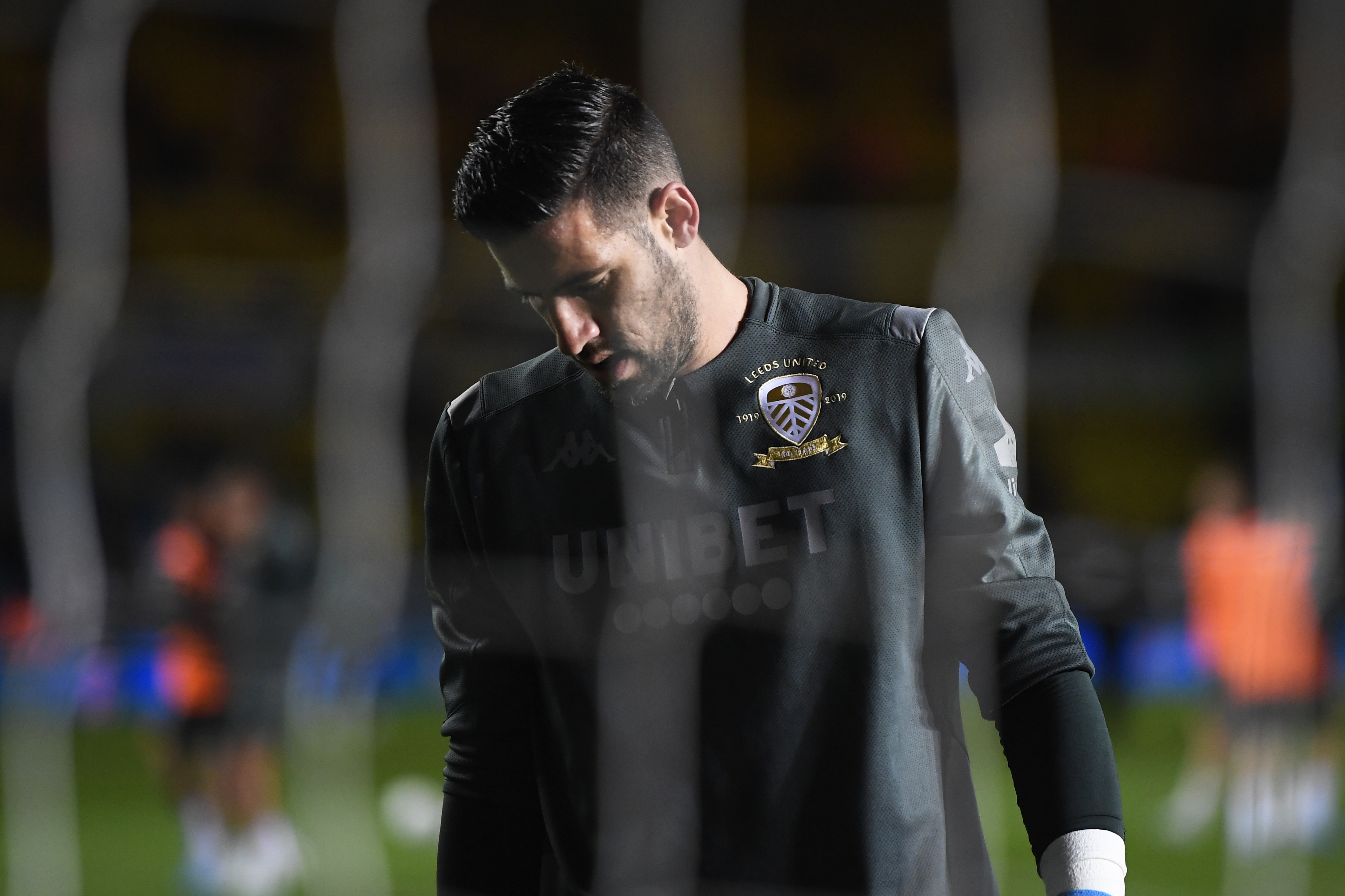 Kiko Casilla era el portero menos goleado de la categoría hasta el bajón de forma del Leeds. / Getty Images