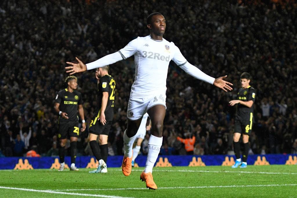 Eddie Nketiah se ha destapado como un gran agitador de partidos como suplente para el Leeds. / Getty Images