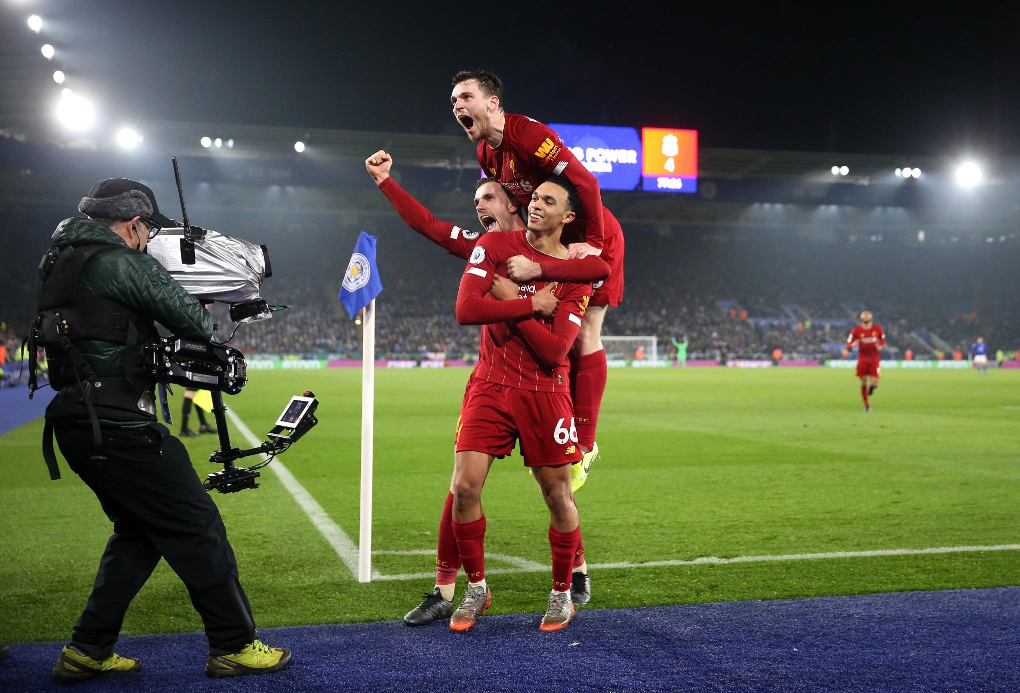 El Liverpool venció en Leicester, cuando tenía que hacerlo