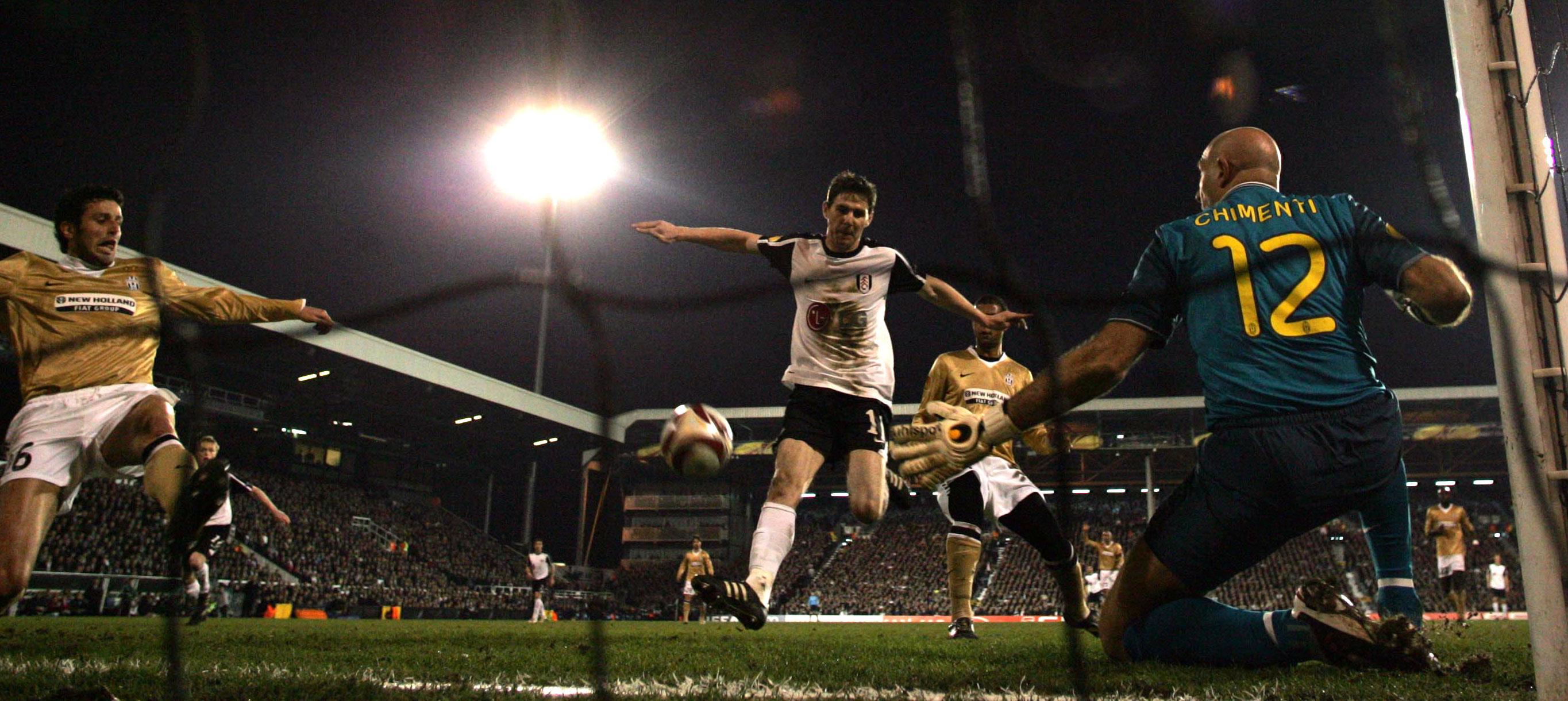 El Fulham venciendo a la Juventus