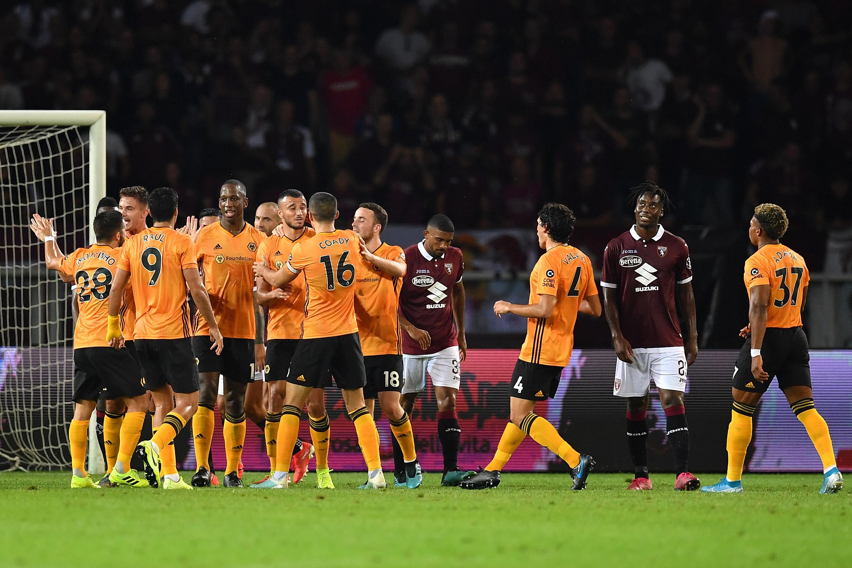 El Wolverhampton ganando en Turín