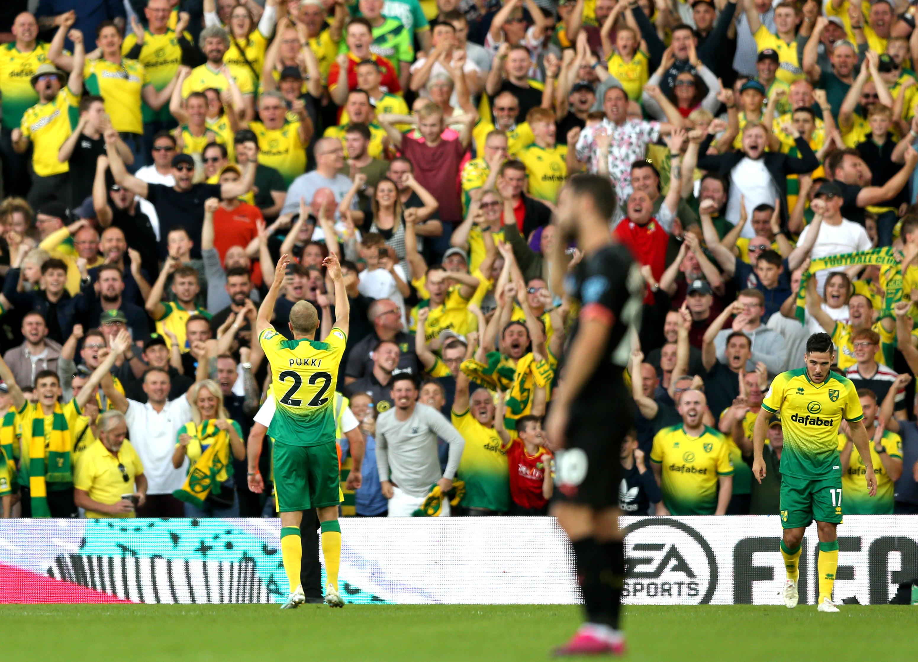 Teemu Pukki y el Norwich consiguieron lo que nadie esperaba