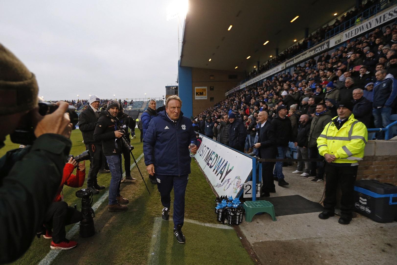 Neil Warnock en Gillingham