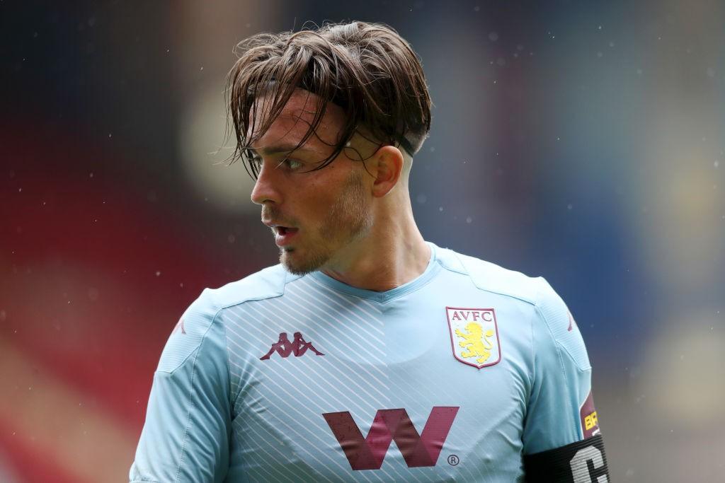 Grealish, capitán del Villa. / Fuente: Getty Images