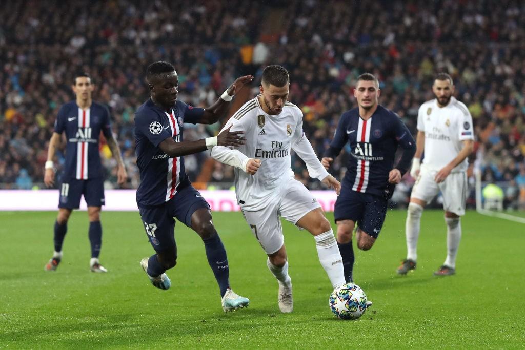 Gueye y Hazard han podido verse las caras en Champions esta temporada tras abandonar la Premier League. / Getty Images
