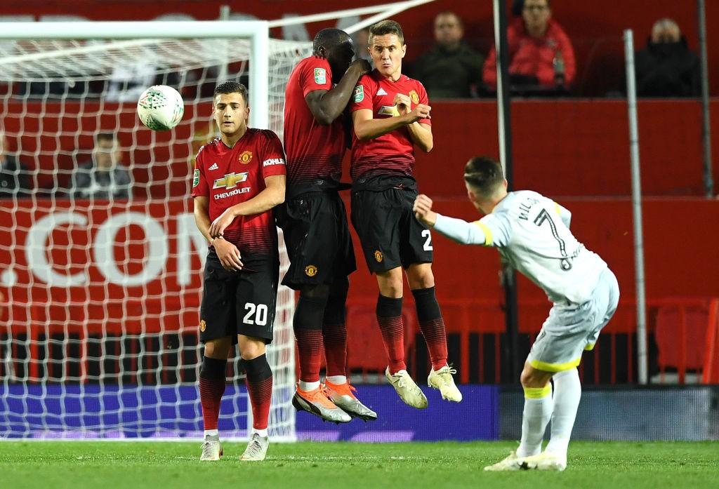 El gol que marcó en Old Trafford fue probablemente su mejor tanto como jugador del Derby County. / Getty Images