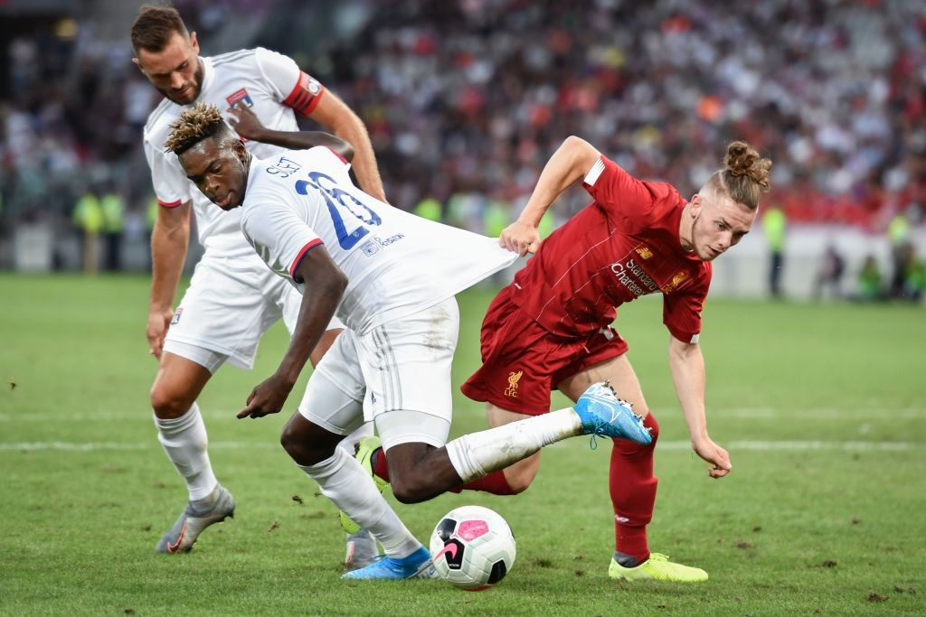Harvey Elliott ya ha debutado en pretemporada con el Liverpool. / Fuente: Getty Images