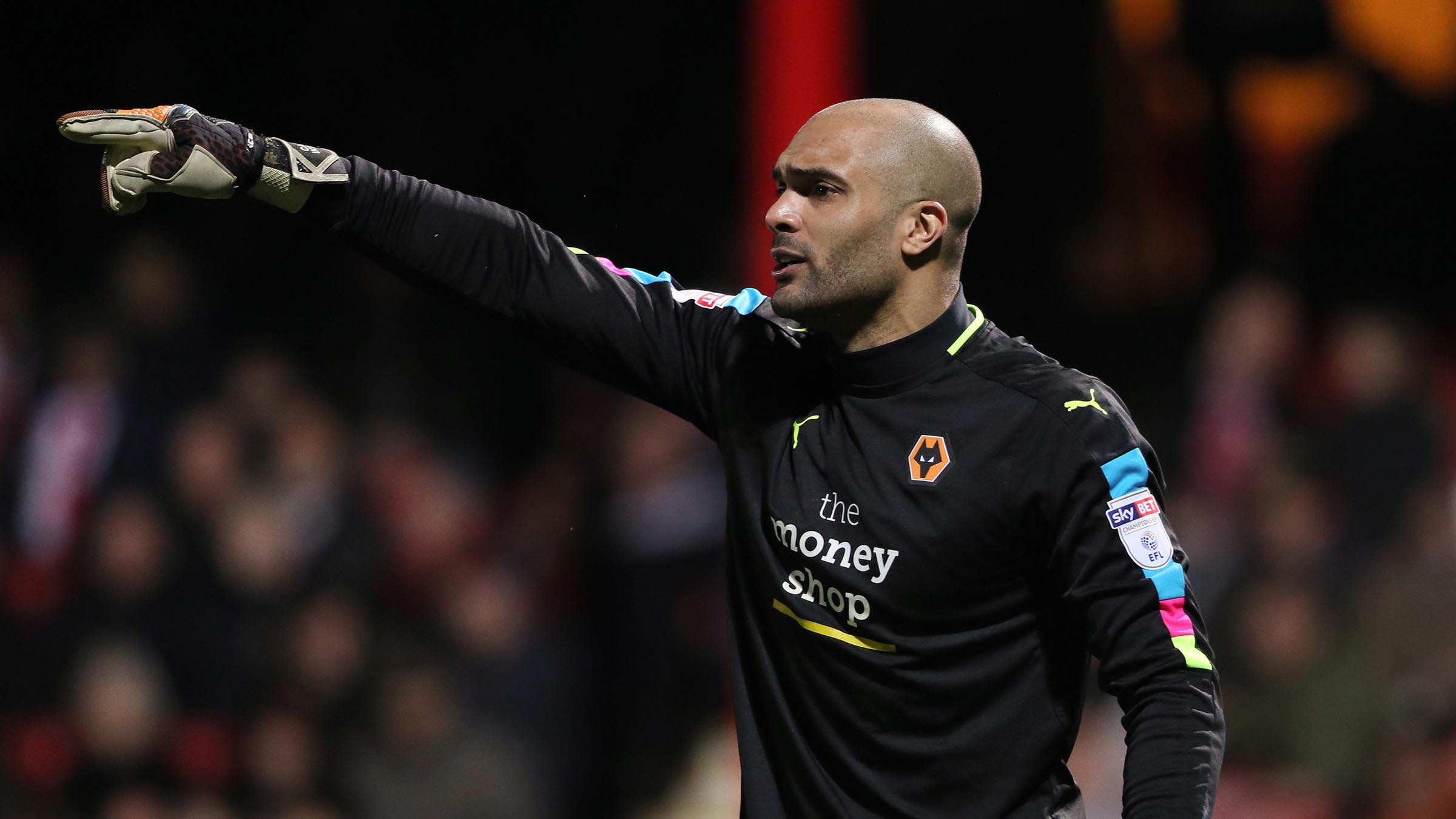 Carl Ikeme. / Wolverhampton Wanderers
