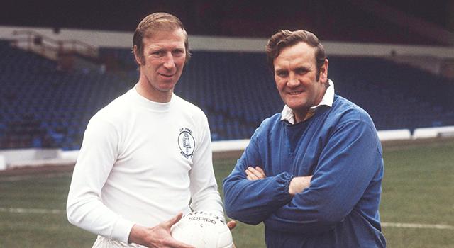 Jack Charlton y Don Revie. / Leeds United