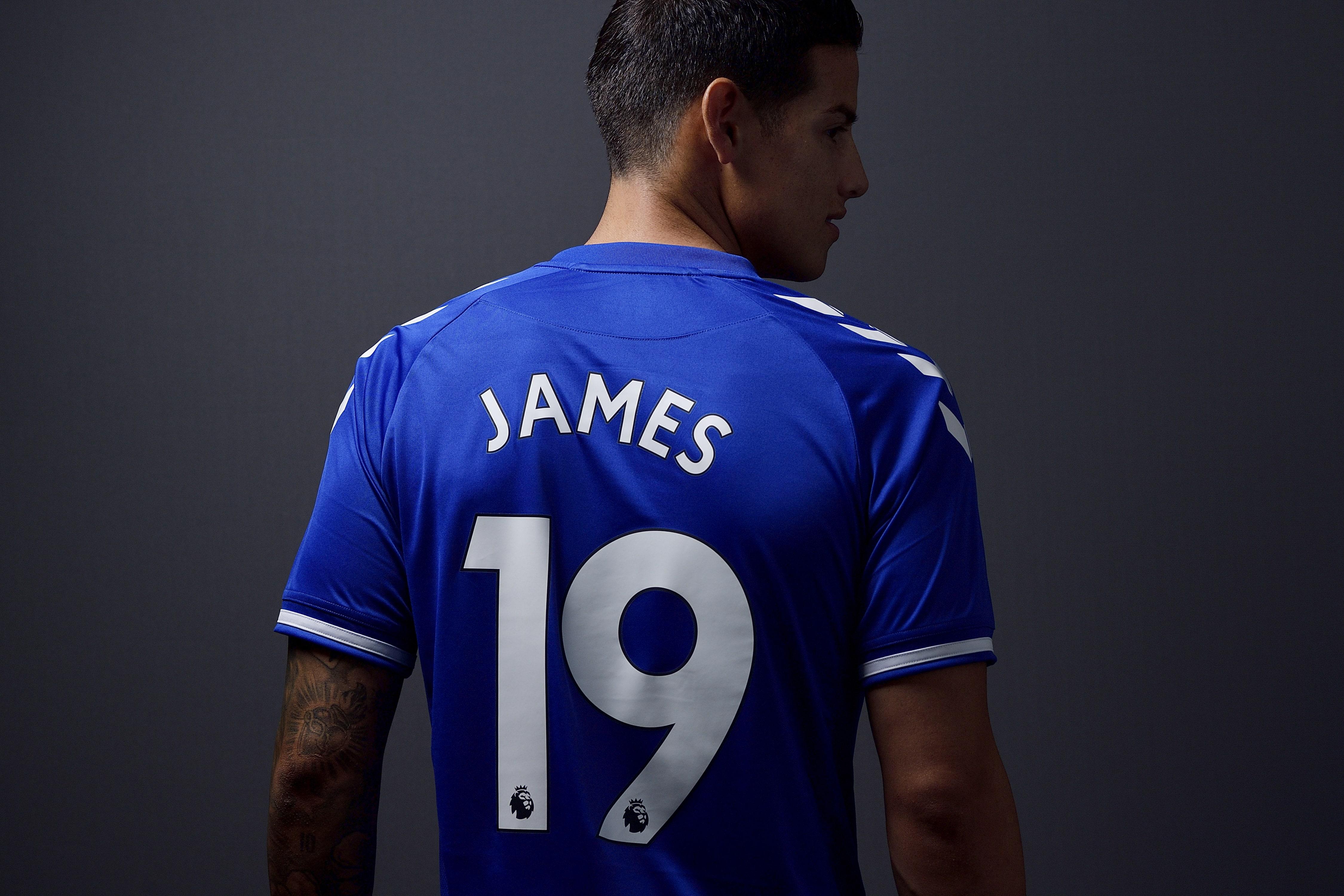 James Rodríguez. / Everton FC