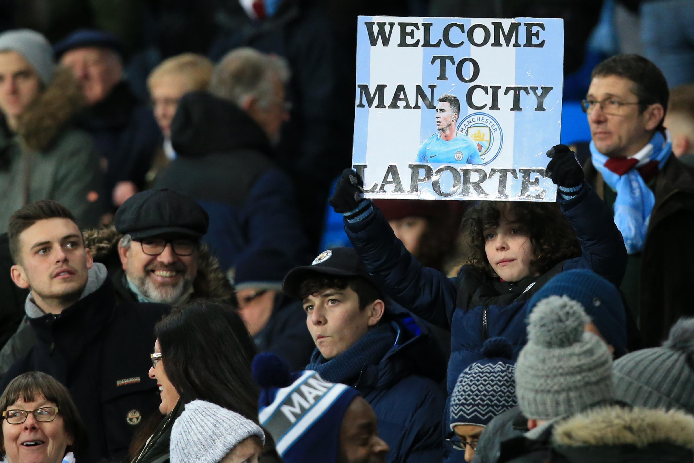 Aymeric Laporte debutó con el Manchester City