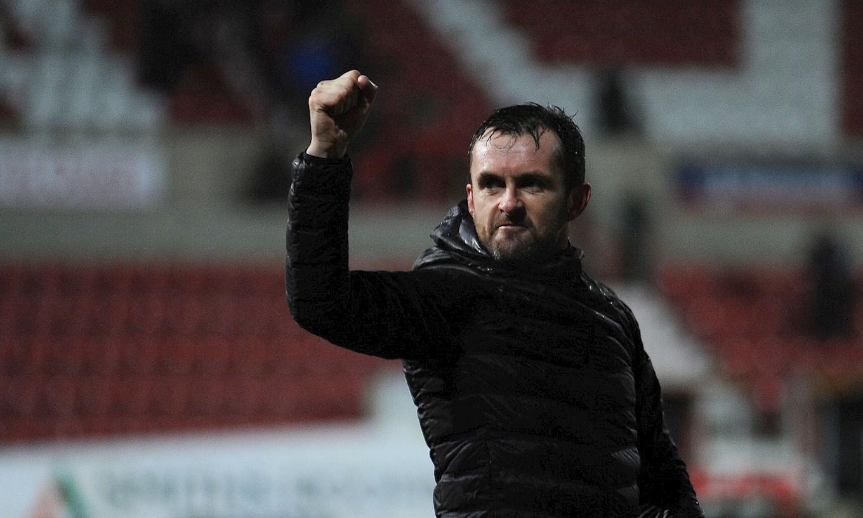 Nathan Jones. / Luton Town FC