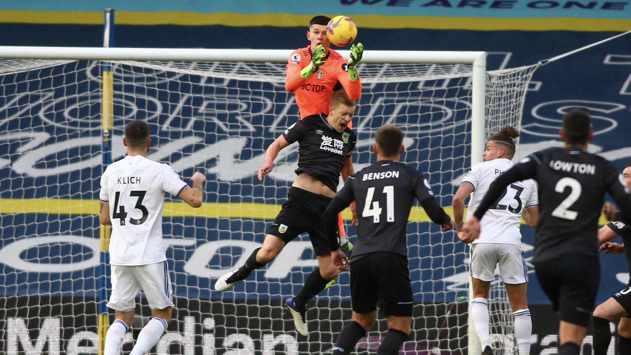 El Leeds logró vencer al Burnley