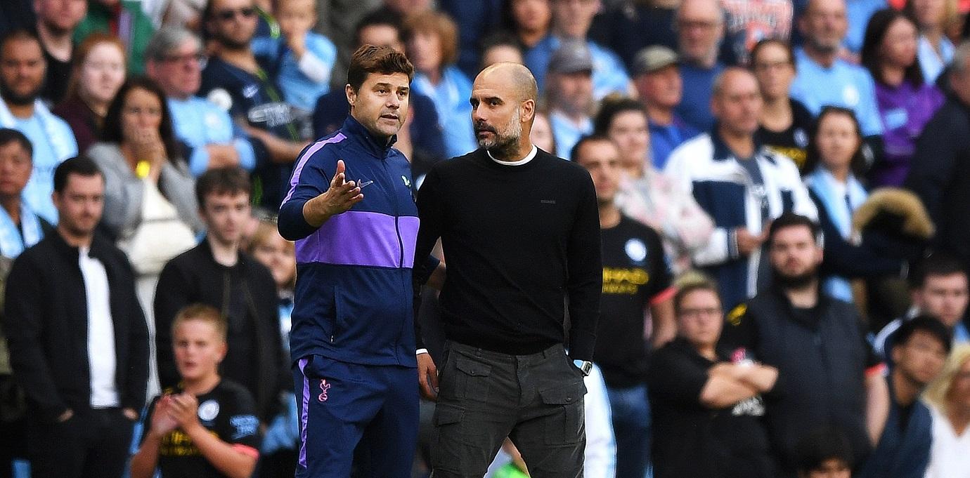 Mauricio Pochettino y Pep Guardiola