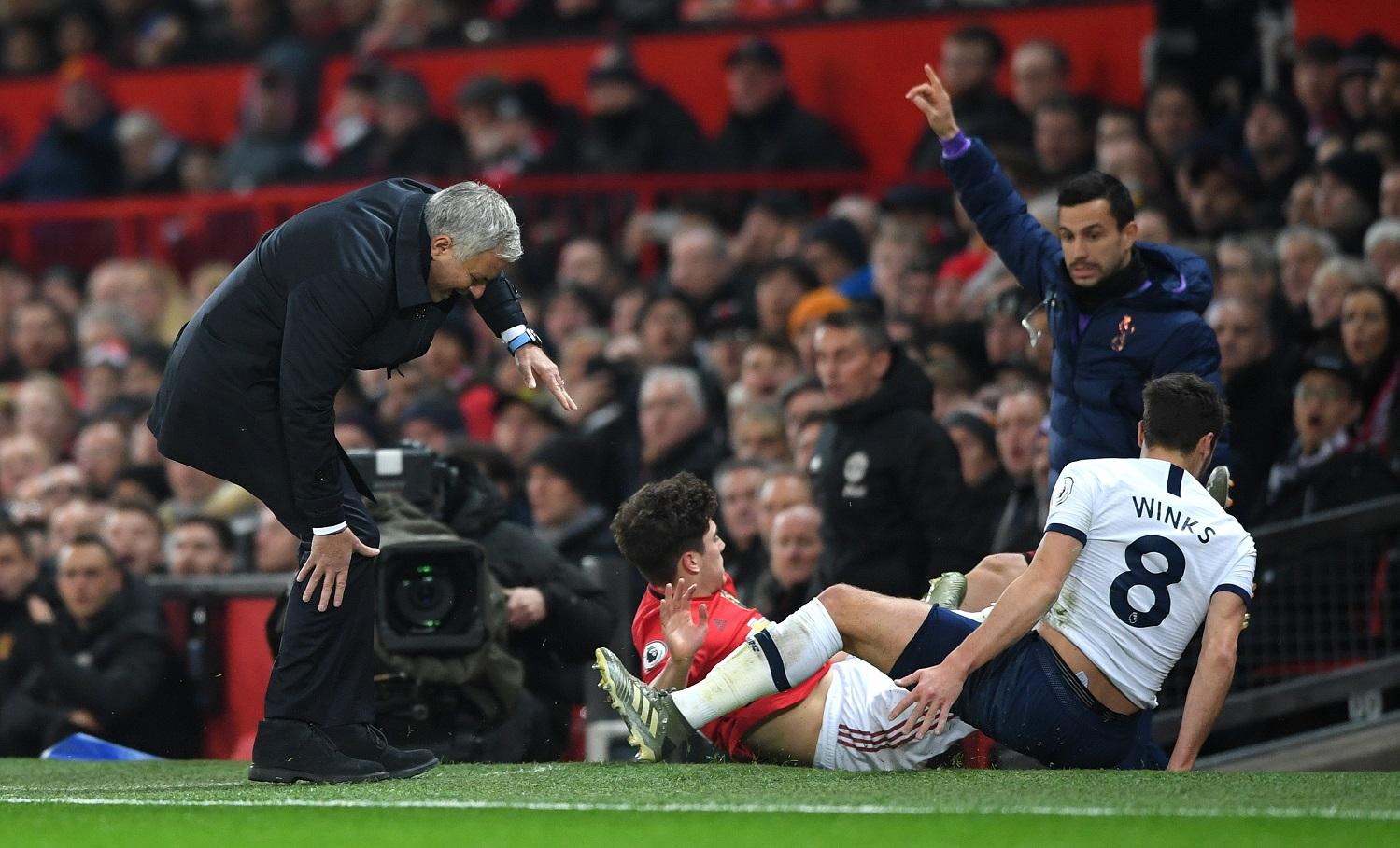 José Mourinho regresó a Old Trafford casi un año después