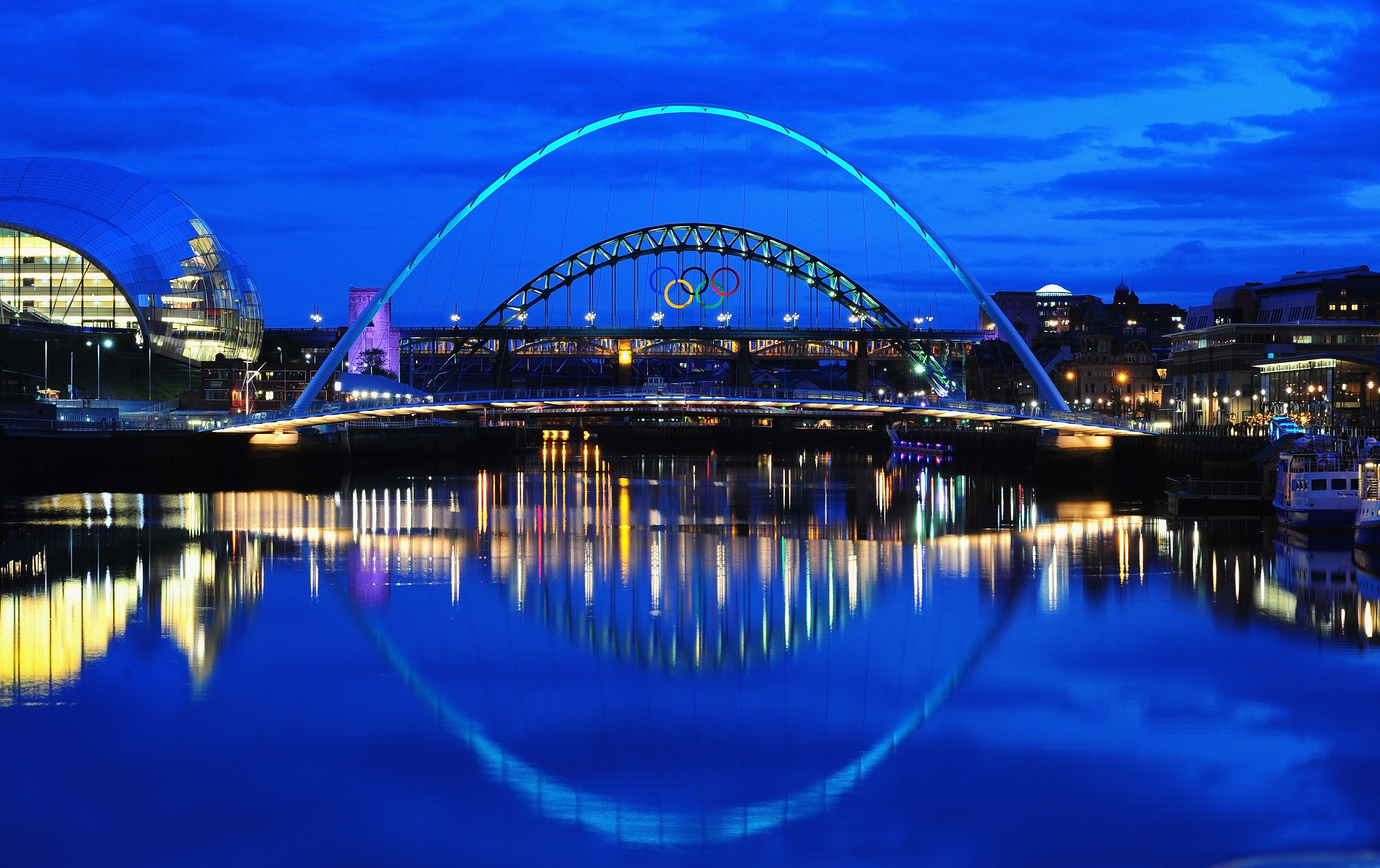 El Tyne Bridge de Newcastle
