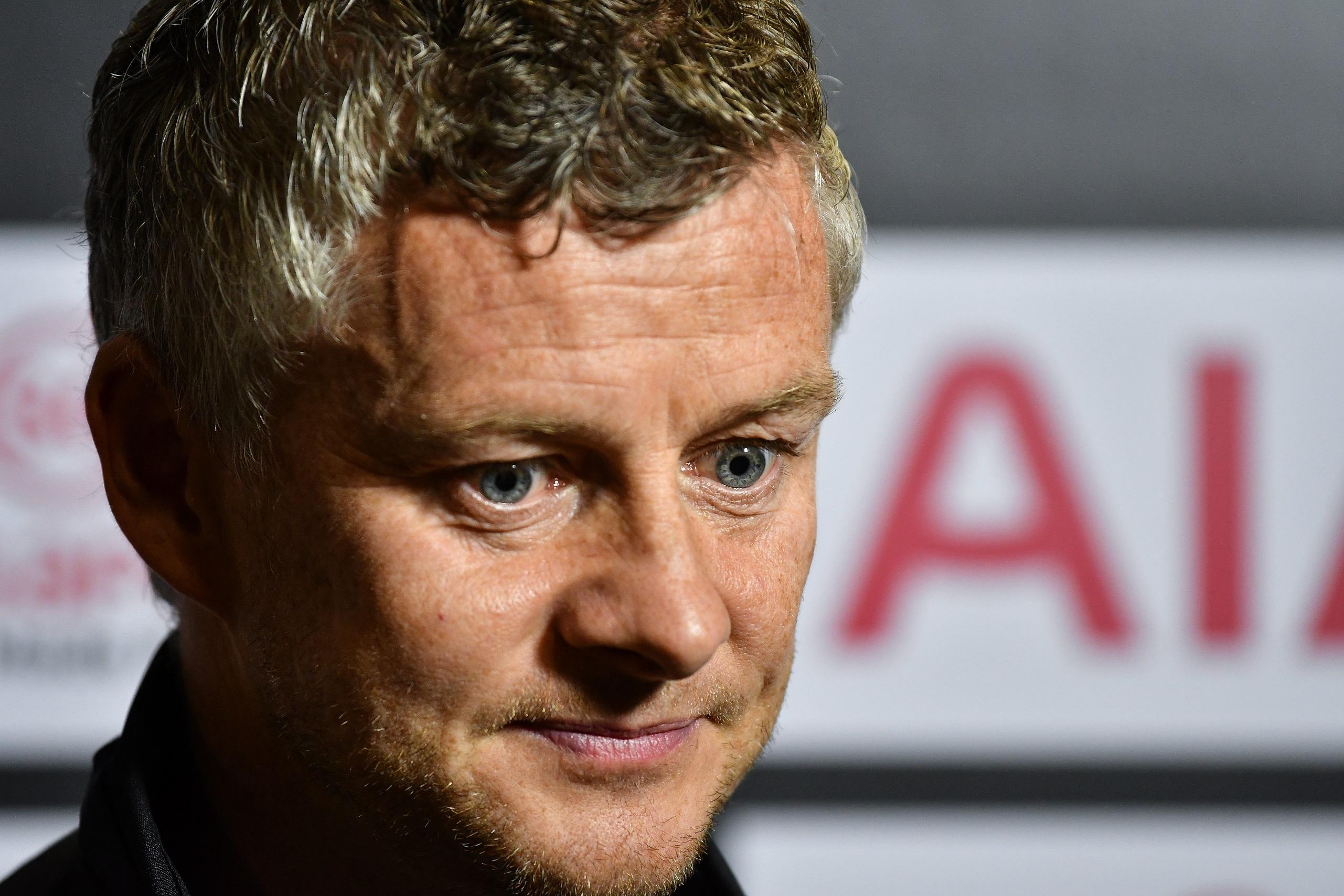 Solskjaer pensando en el Manchester United