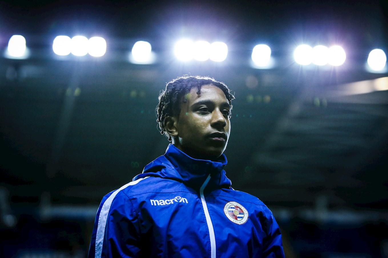 Michael Olise. / Reading FC