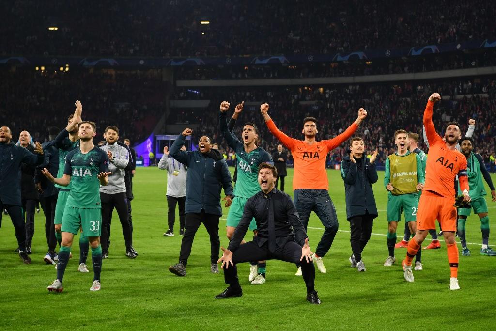 La cumbre del Tottenham de Pochettino llegó con su clasificación para su primera final de Champions en la historia. / Getty Images
