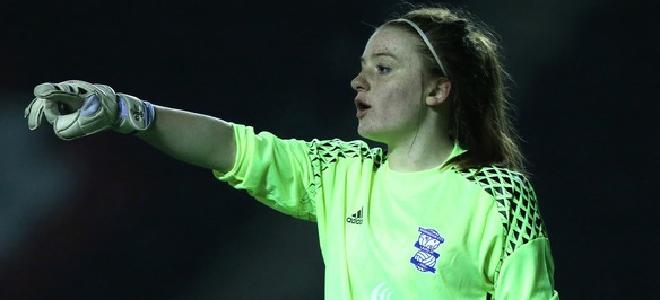 Sophie Baggaley tuvo una actuación estelar con el Birmingham