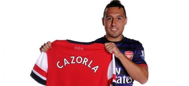 Santi Cazorla ya es jugador del Arsenal