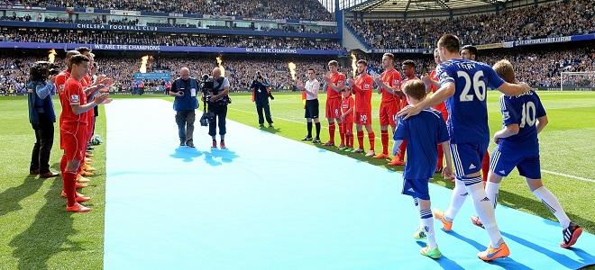 El Liverpool hizo el pasillo al Chelsea en mayo