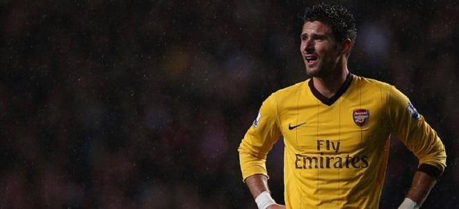 Giroud se quedó sin marcar