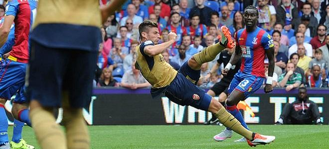 Olivier Giroud marcó el gol de la jornada
