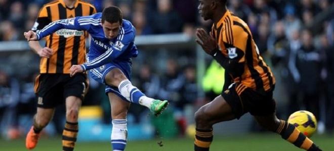 Eden Hazard abrió el marcador