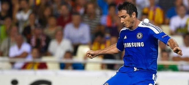 Lampard marcó el gol del Chelsea