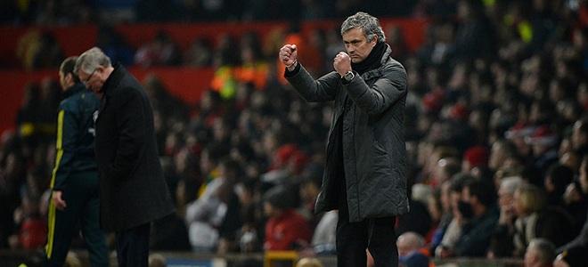 Mourinho acabó ganándole la partida a su amigo Ferguson