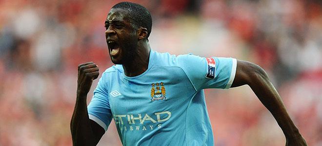 Yaya Touré marcó el único gol del partido