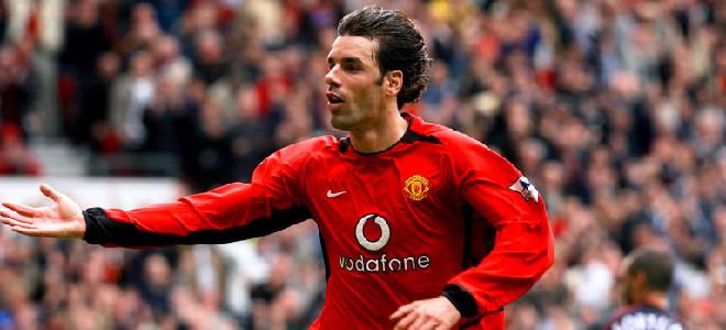 Van Nistelrooy, leyenda del Manchester United