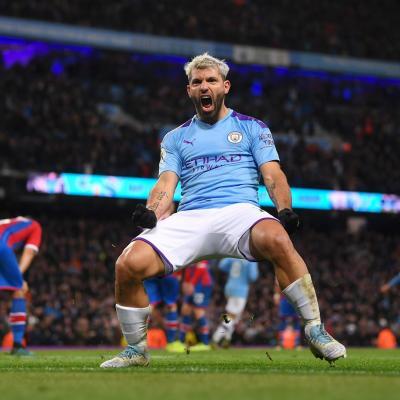 Sergio Agüero. / Manchester City