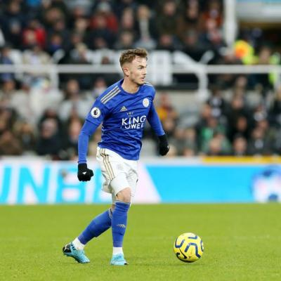 James Maddison. / Leicester City