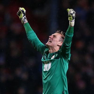 El Blackburn consiguió mantener su portería a cero tras once jornadas consecutivas encajando gol. / Getty Images