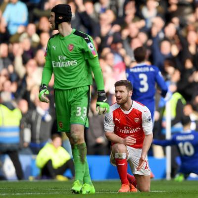 Chelsea Arsenal Mustafi Cech