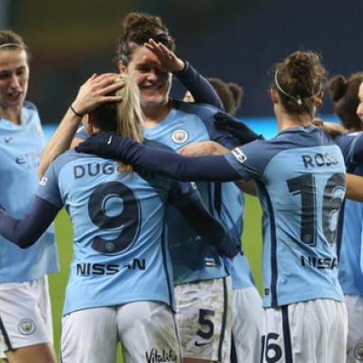 Toni Duggan Man City Champions