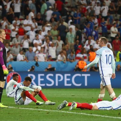 Inglaterra tras caer ante Islandia