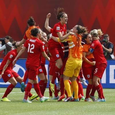 Inglaterra mujeres