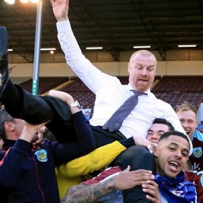 Sean Dyche condujo al Burnley al ascenso