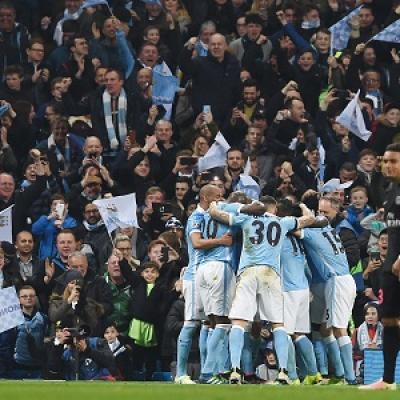 El Manchester City está en semifinales de Champions (PAUL ELLIS/AFP/Getty Images)