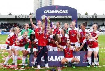 Arsenal Champions WSL