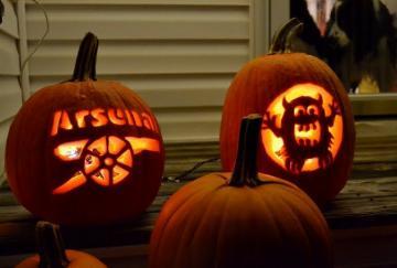 El Arsenal en Halloween