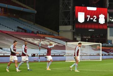 El Aston Villa ganó al Liverpool por 7-2. Siete a dos.