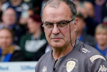 Bielsa. / Leeds United