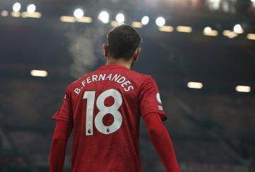 Bruno Fernandes ha sido la gran estrella de 2020